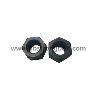 Hex Nut ISO4032 CL.10 BLACK Hex Nut and Hex Jam Nut China customized nut factory China custonmized nut manufacturer
