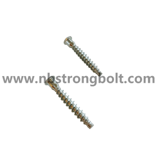 Flat Point Confirmat Screw with Deep Hole/China screw factory,China screw manufacturer